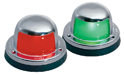 HORIZONTAL MOUNT SIDE LIGHTS (#9-0963DP0CHR) - Click Here to See Product Details