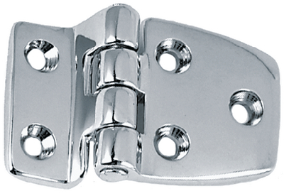 OFFSET SHORTSIDE HINGES (#9-1214DP1CHR) - Click Here to See Product Details