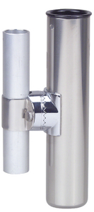 CLAMP-ON ROD HOLDER (#9-1215DP0CHR) - Click Here to See Product Details