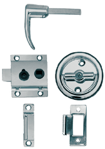 FLUSH CUP RIM LATCH SET (#9-1280DP0CHR) - Click Here to See Product Details