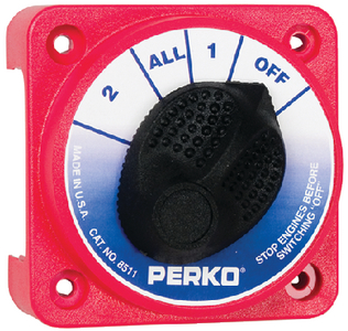 COMPACT BATTERY SWITCH (#9-8511DP) - Click Here to See Product Details