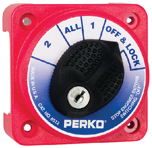 COMPACT BATTERY SWITCH (#9-8512DP) - Click Here to See Product Details