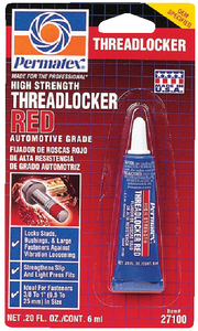 THREADLOCKER 271 (#180-27100) - Click Here to See Product Details