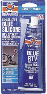 SENSOR SAFE BLUE RTV SILICONE GASKET MAKER (#180-80022) - Click Here to See Product Details