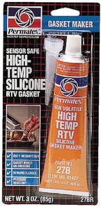 RED HIGH TEMP RTV SILICONE GASKET MAKER<BR>SENSOR SAFE (#180-81422) - Click Here to See Product Details