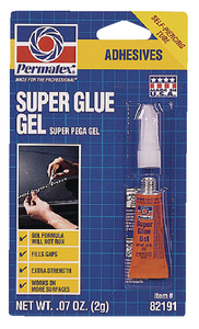 SUPER GLUE GEL (#180-82191) - Click Here to See Product Details