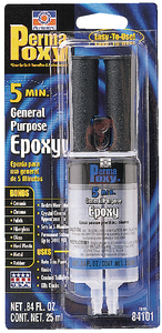 PERMAPOXY<sup>TM</sup> 5 MINUTE GENERAL PURPOSE EPOXY (#180-84101) - Click Here to See Product Details