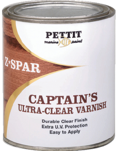 CAPTAIN'S ULTRA CLEAR VARNISH - Click Here to See Product Details
