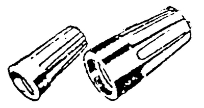 PACIFIC IND. COMP. WIRE NUTS PER 100 IVORY SMALL (1545E)