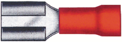 PACIFIC IND. COMP. 22-16 AWG .250 FEM CONN 100 (1755E)