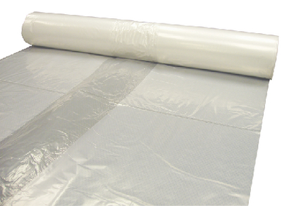 4 MIL CLEAR PLASTIC SHEETING (#28-CF0432C) - Click Here to See Product Details