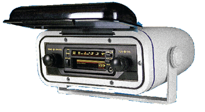 STEREO ENCLOSURE SPLASH COVER (#665-WC400) - Click Here to See Product Details