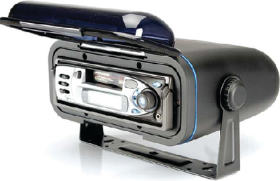 STEREO ENCLOSURE SPLASH COVER (#665-WC400B) - Click Here to See Product Details