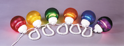 """POLYMER PRODUCTS LLC FIXTURE MULTI COLOR 6"""" GLOBES (1661-00523)"""