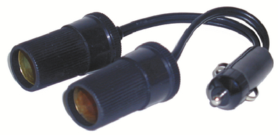 PRIME PRODUCTS TWIN PLUG IN LIGHTER SOCKETS (08-0910)
