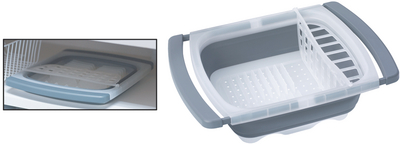 PROGRESSIVE INT'L CORP COLLAPSIBLE DISH DRAINER (CDD-20GY)