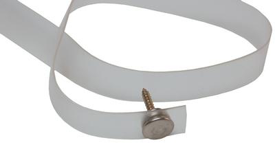 RV DESIGNER TIEBACK-CLEAR PLASTIC 18IN (A750)