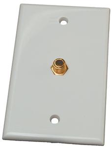RV DESIGNER TV WALL PLATE INT WHT (T141)