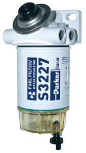 GASOLINE SPIN-ON SERIES FUEL/WATER SEPARATOR (#62-490RRAC01) - Click Here to See Product Details