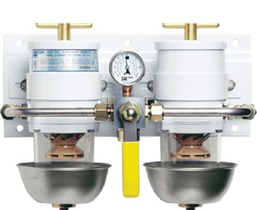 TURBINE SERIES DIESEL FUEL FILTRATION - DUAL (#62-75500MAX2) - Click Here to See Product Details
