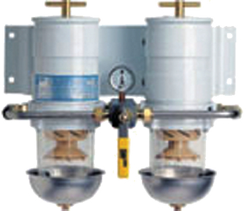 TURBINE SERIES DIESEL FUEL FILTRATION - DUAL (#62-75900MAX2) - Click Here to See Product Details