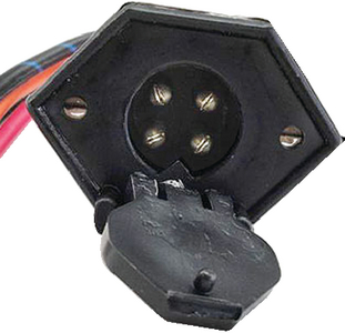 V-GROOVE TROLLING MOTOR PLUG and RECEPTACLE (#750-425) - Click Here to See Product Details
