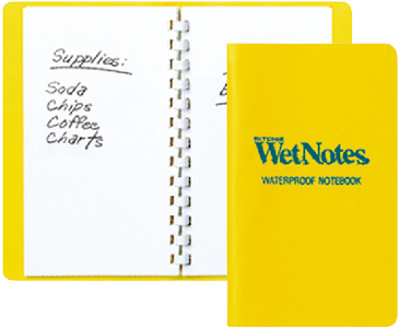 WETNOTES<sup>®</sup> NOTEBOOK (#128-W50) - Click Here to See Product Details