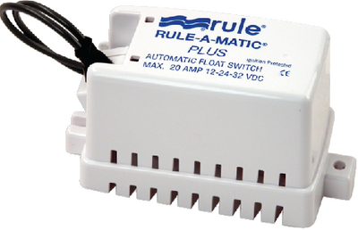 RULE-A-MATIC<sup>®</sup> PLUS<sup>TM</sup> FLOAT SWITCH (#29-40A) - Click Here to See Product Details
