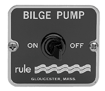 ON / OFF BILGE PANEL SWITCH (#29-49) - Click Here to See Product Details