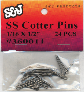 COTTER PINS (#8-360111) - Click Here to See Product Details