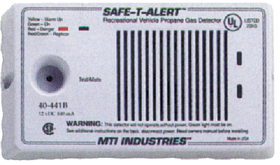 MTI INDUSTRIES PROPANE/NAT GAS DET 12V SURFAC (40-441-P-WT)