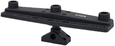 ADJUSTABLE TRIPLE ROD HOLDER MOUNT  (#736-257) - Click Here to See Product Details