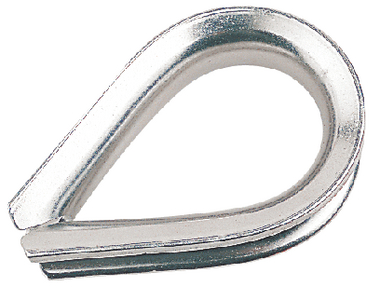 STAINLESS STEEL HEAVY DUTY THIMBLE (#354-170016) - Click Here to See Product Details