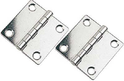 STAINLESS STEEL BUTT HINGES (#354-2015821) - Click Here to See Product Details