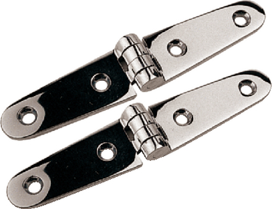 STAINLESS STRAP HINGES (#354-2053901) - Click Here to See Product Details