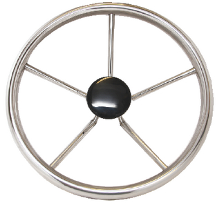 STAINLESS STEEL STEERING WHEELS (#354-230212) - Click Here to See Product Details