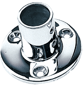 ROUND RAIL BASES - STAINLESS (#354-2809001) - Click Here to See Product Details