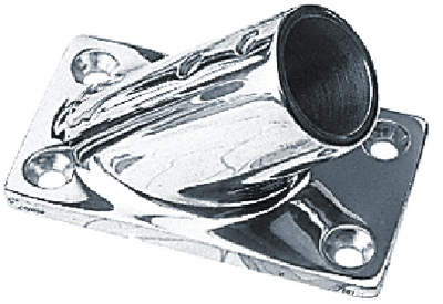 RECTANGULAR RAIL BASES - STAINLESS (#354-2814511) - Click Here to See Product Details