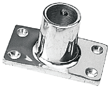 RECTANGULAR RAIL BASES - STAINLESS (#354-2819011) - Click Here to See Product Details