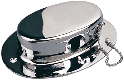 CHROME BRASS CHAIN DECK PIPE (#354-322070) - Click Here to See Product Details