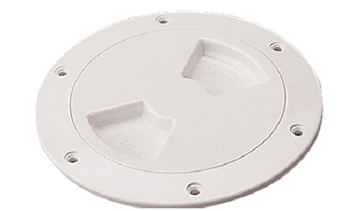 """SEA-DOG LINE DECK PLATE WH SMOOT 5"""" QTR TRN (336350-1)"""