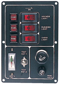 ALUMINUM SWITCH PANEL (#354-4223101) - Click Here to See Product Details