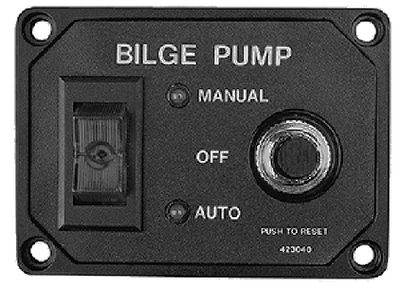 BILGE PUMP SWITCH WITH CIRCUIT BREAKER (#354-4230401) - Click Here to See Product Details