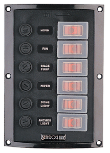 SPLASH GUARD SWITCH PANEL (#354-4241161) - Click Here to See Product Details