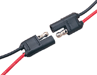 POLARIZED CONNECTOR 2 WIRE-PLUG AND SOCKET (#354-4268801) - Click Here to See Product Details