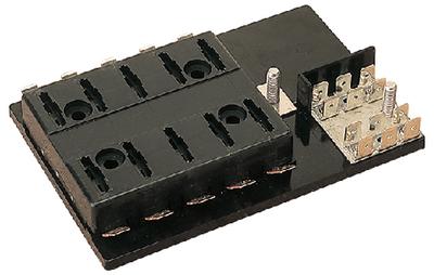 SEA-DOG LINE FUSE BLOCK ATC 6-GANG (445191-1)