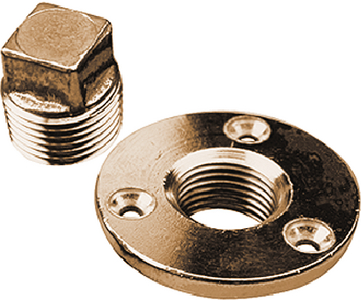 GARBOARD DRAIN & PLUG  (#354-5200401) - Click Here to See Product Details