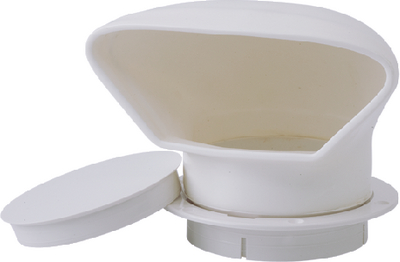 LOW PROFILE PVC COWL VENT (#354-7271323) - Click Here to See Product Details