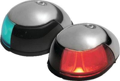 STAINLESS STEEL DECK MOUNT SIDE LIGHT (#23-3820ST1) - Click Here to See Product Details