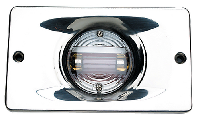 TRANSOM LIGHT - STAINLESS FLANGE (#50-05361) - Click Here to See Product Details